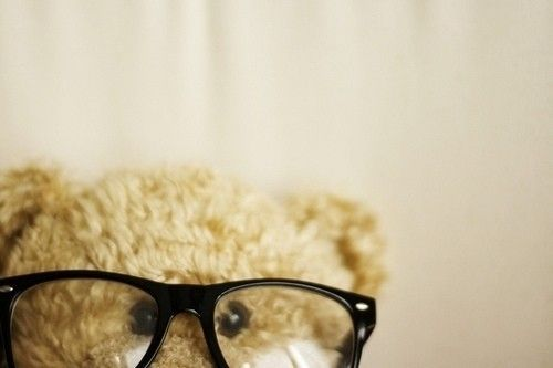 Nerd <3: This picture reminds of my boyfriend, Marcus as he wears thick rimmed glasses and is a total sweetheart.