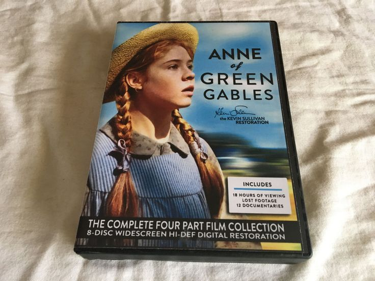 Anne of Green Gables: The Kevin Sullivan Restoration (DVD, 2012, 8-Disc Set)
