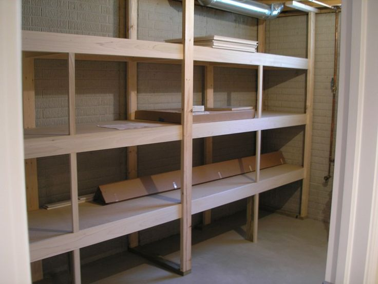 Basement storage ideas tired of that dark dusty damp for Basement storage ideas