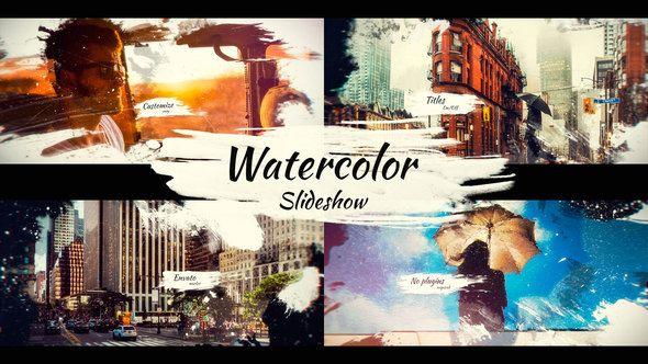 Watercolor Slideshow Watercolor Slideshow Illustration