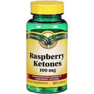 Spring Valley Raspberry Ketones Dietary Supplement, 100mg, 60 count *** Want to know more, click on the image.