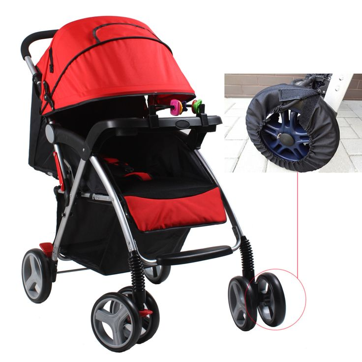 1pcs Baby Stroller Accessories Wheels Covers for Wheelchair Baby Carriage Pram Pushchair Dustproof Wheel Covers Protective