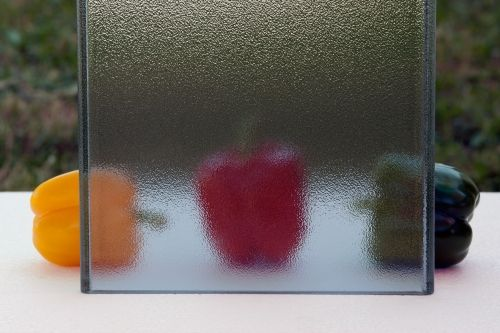 Pilkington Profilit™ Antisol - textured profiled glass with solar control coating.