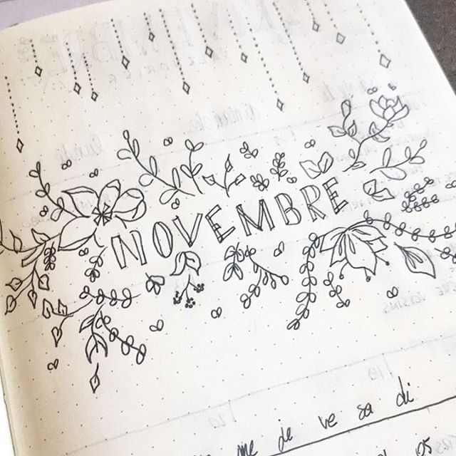 Hello november! Another month blooming in my #bulletjournal. I drew this page while watching Wonder Woman, a big disappointment! No matter, I have something good to organize this new month that begins! Inspo: @studywithinspo • • #plan #bujo #agenda #diy #doityourself #flowers #organization #calendar #november | SnapWidget