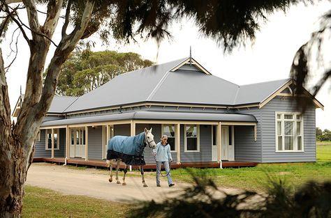 Wide verandah to provide shelter from the long hot summer days.The verandah was an integral part of every Australian House.