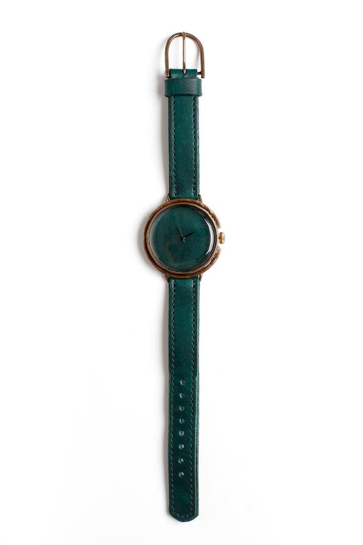 Assembly x Neji Commu Leather Wristwatch