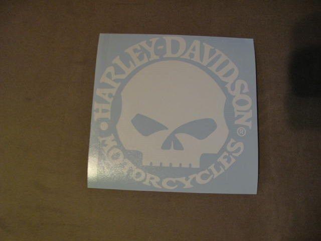HARLEY DAVIDSON DECAL #Harley #harleydavidson #motorcycle #love #sticker #skull #forlife #ride