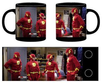 disfraz flash protagonistas taza ceramica - taza ceramica - #TheBigBangTheory #TBBT
