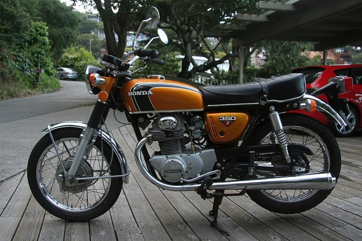 This Honda along with others in the 1970s pushed aside old British bikes. A Honda was reliable, well made and even the little Honda C90 Cub was a legend.