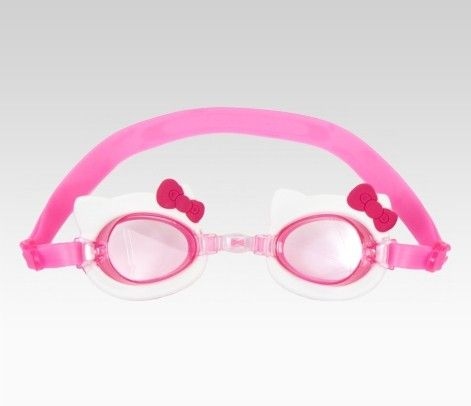 Let's go swimming!: Kitty Swimming, Kids Goggles, Hellokitty, Hello Summer, Kitty Kid S, Hello Kitty, Kitty Kids, Kitty Summer