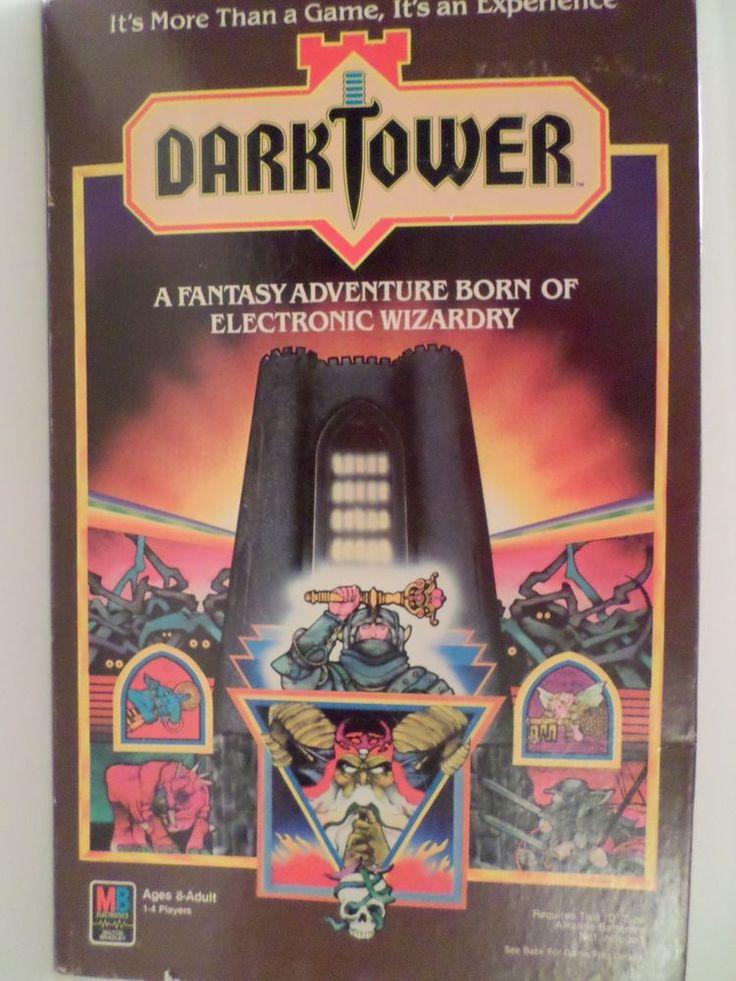 Dark Tower Board Game Milton Bradley 1981 complete but TOWER NEEDS REPAIR #MiltonBradley