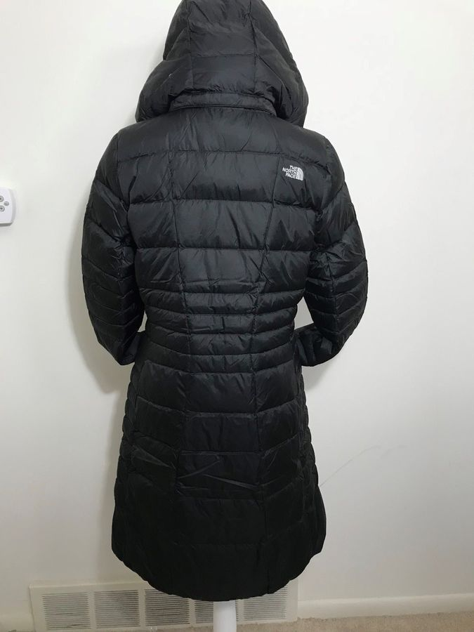 037a1fc65 The North Face Women's Metropolis Parka 2 Down Coat Black Navy XS ...