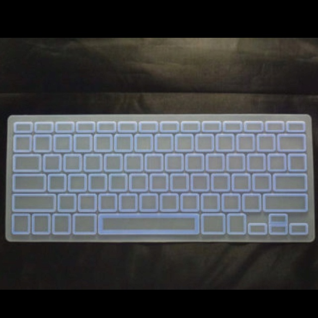 how to see the keyboard functions on a macbook