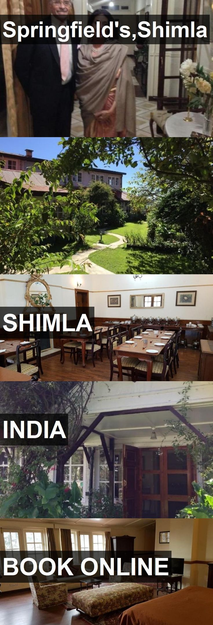 Hotel Springfield's,Shimla in Shimla, India. For more information, photos, reviews and best prices please follow the link. #India #Shimla #Springfield's,Shimla #hotel #travel #vacation