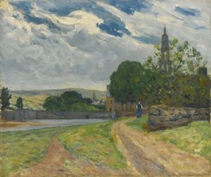Stormy Skies at Faon - Maxime Maufra - The Athenaeum