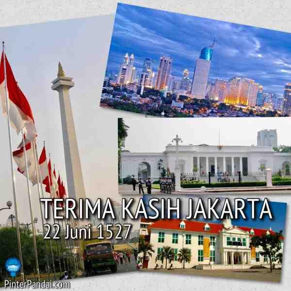Sejarah Jakarta dari zaman kuno sampai tahun 2000an. Sekarang, Jakarta mendominasi administrasi Indonesia, ekonomi, kegiatan budaya dan komersial