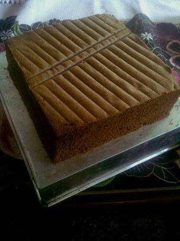 Sponge Cake Coklat Lembut Irit Recipe Resep sponge cake