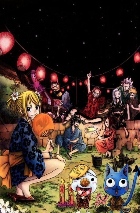 Fairy Tail Guild - Anime
