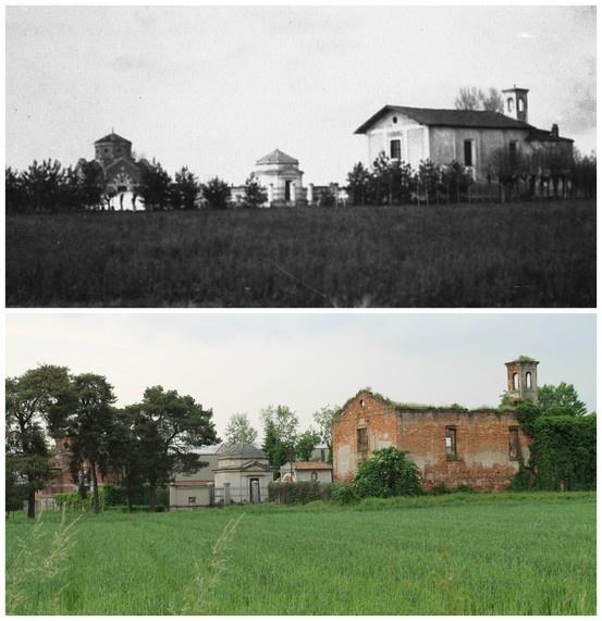 cimitero di Vighignolo: anni '30 - 2013  (45°29'26.21''N 9°02'57.93''E 45.490592,9.049312)