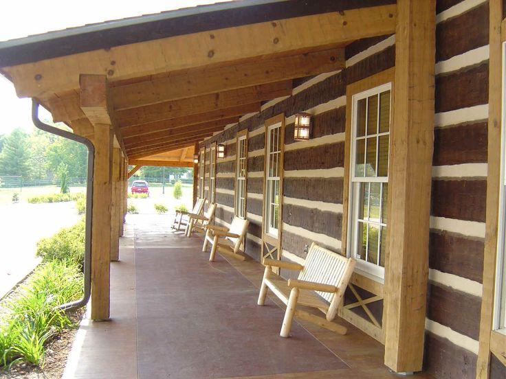 Porch Roof Designs | Day Discovery Lodge