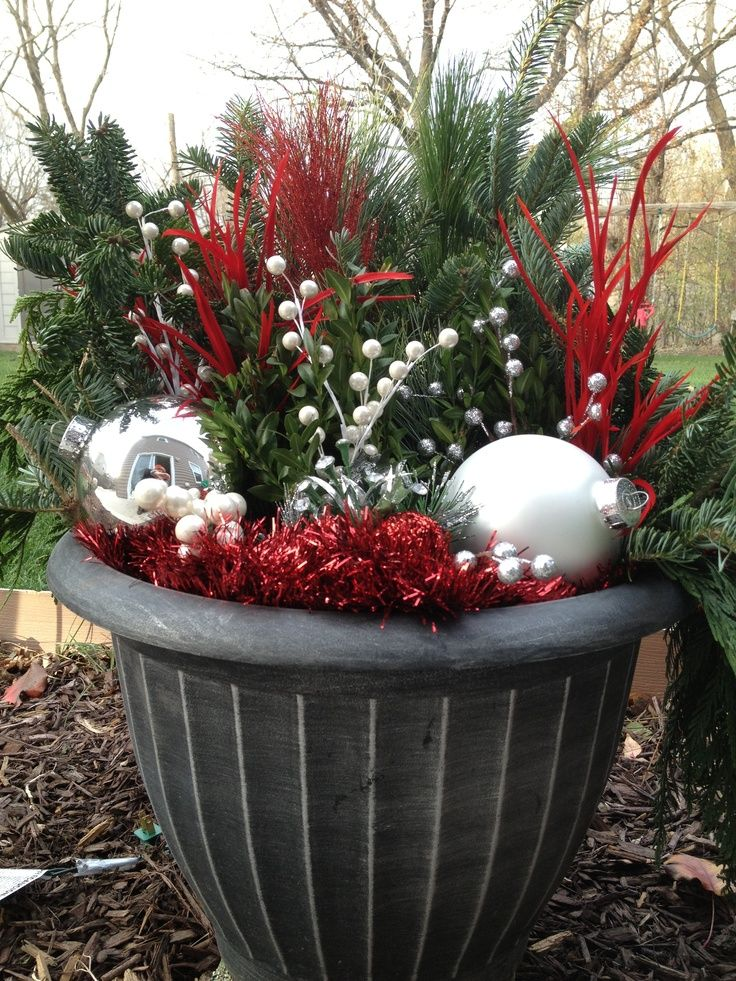 63 best images about outdoor holiday decorating ideas on Diy outside christmas decorating ideas