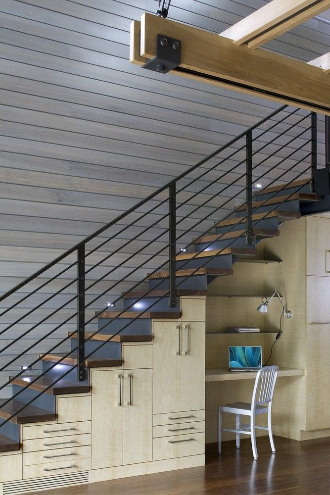 Put That Underutilized Space Under The Stairs To Work As A