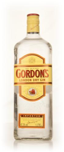 English Gin > Gordons Distillery > Gordon's Yellow Label 1L 47.3% Gordon's Yellow Label 1l 47.3% (100cl, 47.3%)
