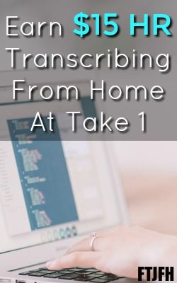 Learn How You Can Work At Home Transcribing TV and Entertainment Files at Take 1!