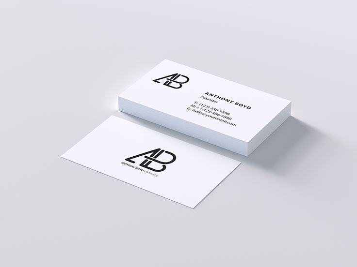 17 best logo design images on pinterest logo designing a logo todays freebie is a modern business card psd mockup created by anthony boyd graphics reheart Gallery
