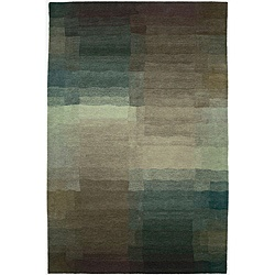 @Overstock - The rich color and history of Tibet are woven into this hand-knotted wool rug. This stunning and lively area rug will bring an aura of warmth and spirit into any room with its geometric pattern in hues of plum, blue and more.http://www.overstock.com/Worldstock-Fair-Trade/Nepalese-Hand-knotted-Plum-Reflections-Wool-Rug-6-x-9/5877345/product.html?CID=214117 $2,872.00