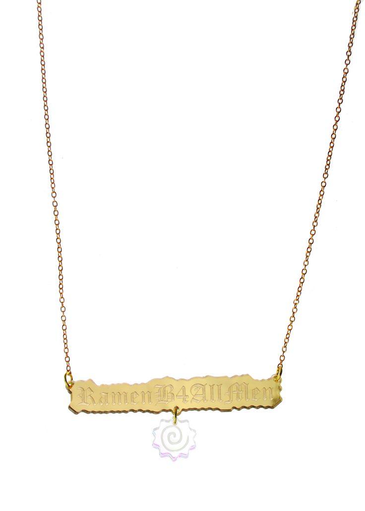 Ramen B4 All Men Necklace
