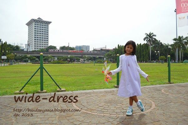 wide dress - japanese sewing pattern