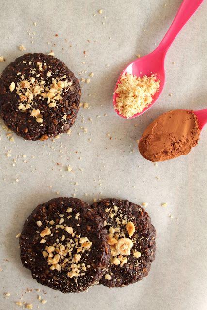 Easy no bake Nutella cookies