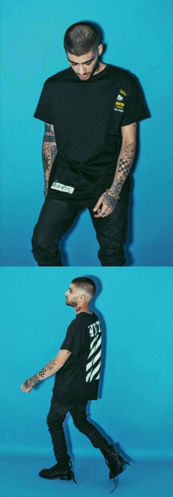 #Zayn Malik's ❥ pictures from his book