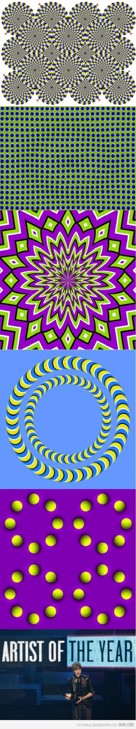127 best images about kinetic illusions op art on