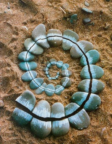 Andy Goldsworthy's Land Art