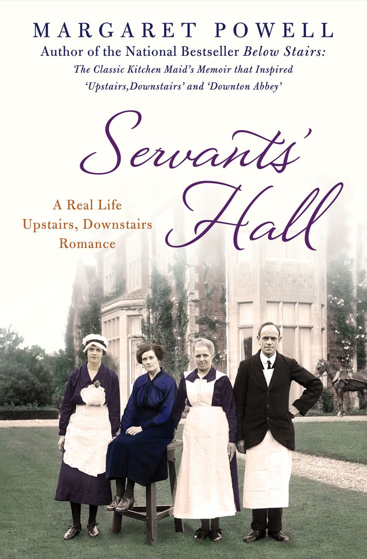 Margaret Powell's Below Stairs, a servant's firsthand account of life in the great houses of #England, became a sensation among readers reveling in the luxury and subtle class warfare of Masterpiece Theatre's hit television series #DowntonAbbey. In Servants' Hall, another true slice of life from a time when armies of servants lived below stairs simply to support the lives of those above, Powell tells the true story of Rose, the under-parlourmaid to the Wardham Family at Redlands...