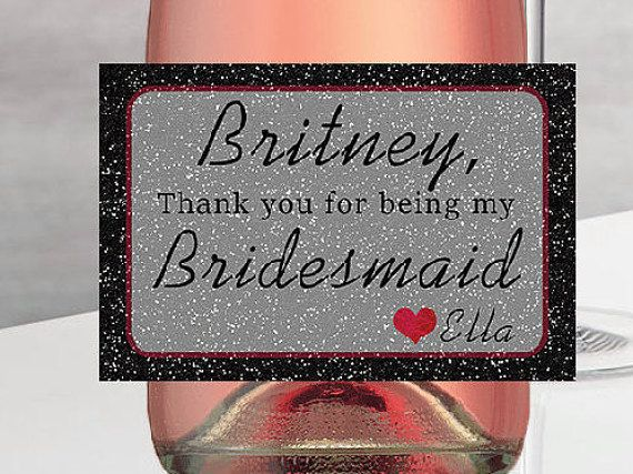 Hey, I found this really awesome Etsy listing at https://www.etsy.com/listing/289579107/will-you-be-my-bridesmaid-mini-champagne