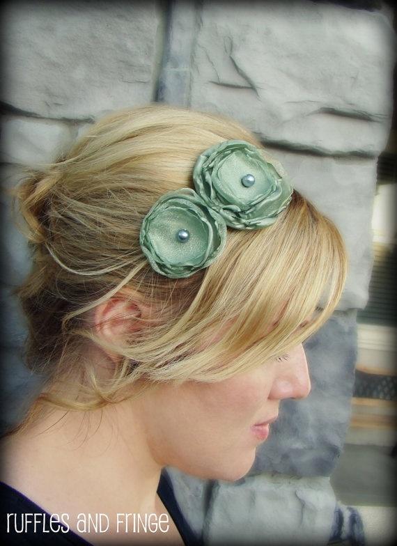 Floral headband @ etsy #FlowerShop