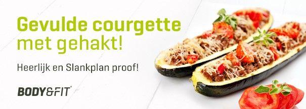 Slankplan recept: gevulde courgette | Blog | Body & Fitshop