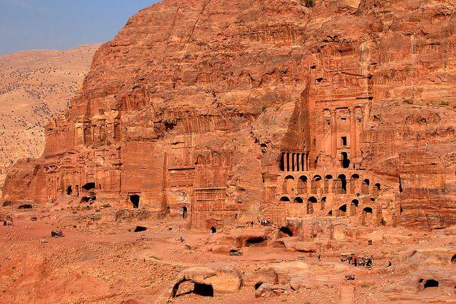 ペトラの遺跡群 ヨルダン