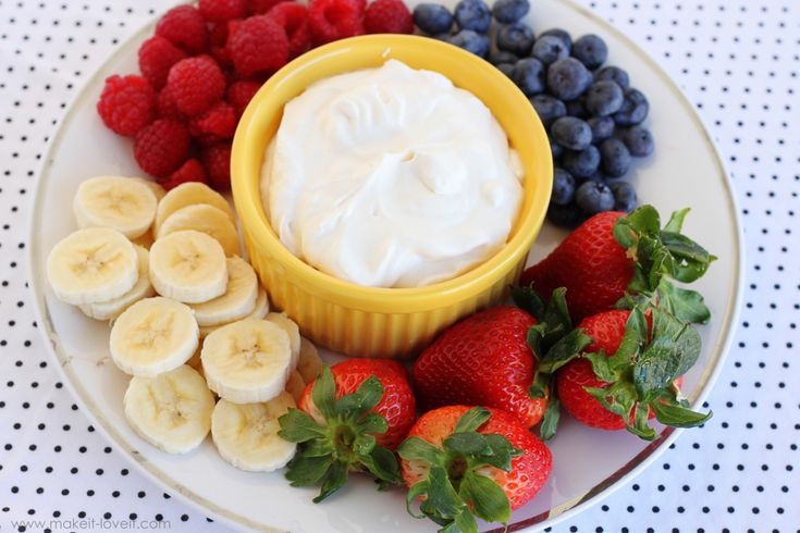 Creamy Greek Yogurt Fruit Dip - I tried this but only had plain Greek yogurt, my favorite brand, Fage! I think it would be tastier with the caramel yogurt. But good nonetheless.
