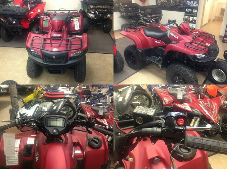 2013 Suzuki Kingquad 500AXi is 30th Anniversary Edition Work Utility ATV. 0% Financing is Available with Approved Credit on this ATV. The original Suzuki LT-125 established Suzuki as the first on four-wheels. It has some impressive features like power steering, 493 cc powerful engine which gives you amazing experience of joyful ride. More details and free price quote available at http://www.usedatvsworld.com/used-atvs/2013/work-utility/suzuki/kingquad-500axi/6256/