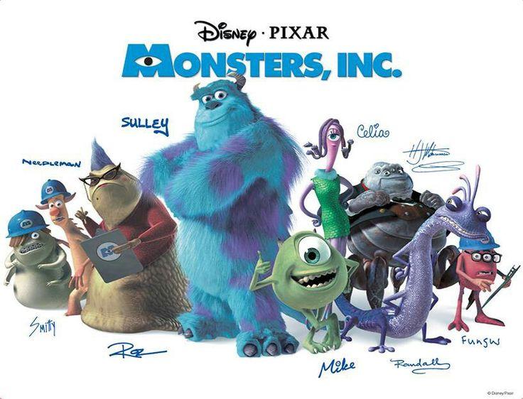 Monsters,Inc. cast | All things Pixar | Pinterest