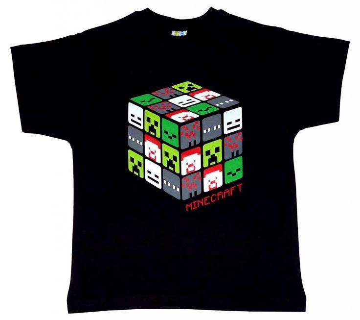 T-shirt dla gracza MINECRAFT'a r.152 PL ostatnia!