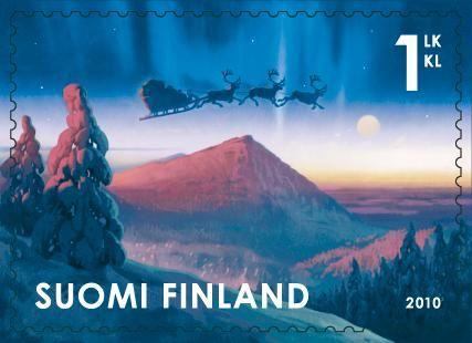 Finland Joulupostimerkki 2010 3/3