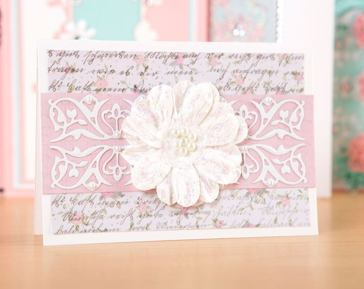 Make beautifully elegant greeting cards with the Intricutz On the Edge Collection, available at C&C! / cardmaking / papercraft / scrapbook / craft