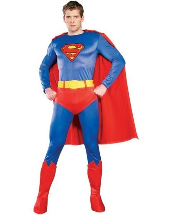 Check out Deluxe Regency Superman Costume - Superman Halloween Costumes from Costume Super Center
