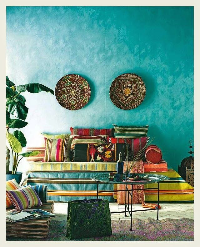 An Indian Summer - powered by FeedBurner How I would love to wake up to walls this color!!