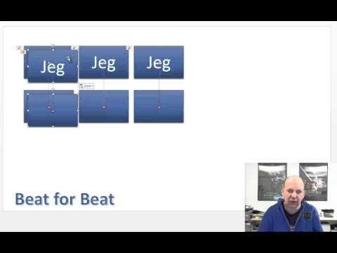 Slik lager du Beat for beat i PowerPoint 2013 - YouTube